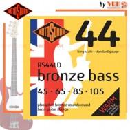 Rotosound สายเบส รุ่น RS44LD - BRONZE BASS ACOUSTIC STANDARD | 45-105
