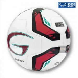 GRAND SPORT บอลหนังเย็บ รุ่น GENESIS - สีแดง