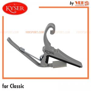 Kyser คาร์โป้กีตาร์คลาสสิค รุ่น KGC - FOR CLASSICAL GUITARS - Silver