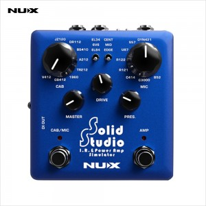 NUX Verdugo รุ่น SOLID STUDIO เอฟเฟค - IR & Power Amp Simulator