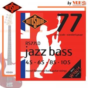 Rotosound สายเบส  รุ่น RS77LD - JAZZ BASS 77 STANDARD | 45-105