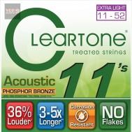 สายกีตาร์ CLEARTONE โปร่ง ฟอสฟอร 11-52