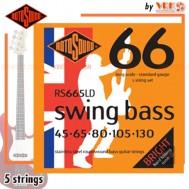 Rotosound สายเบส 5 สาย รุ่น RS665LD - SWING BASS 66 5-STRING STANDARD | 45-130