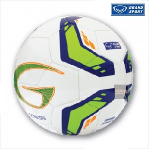GRAND SPORT บอลหนังเย็บ รุ่น GENESIS - สีเขียว