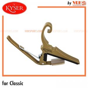 Kyser คาร์โป้กีตาร์คลาสสิค รุ่น KGC - FOR CLASSICAL GUITARS - Gold