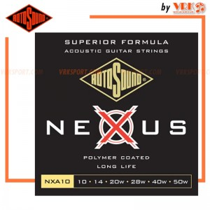 Rotosound สายกีตาร์โปร่ง รุ่น NXA10  - NEXUS ACOUSTIC COATED EXTRA LIGHT | 10-50