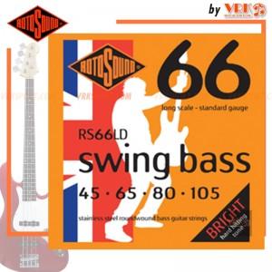 Rotosound สายเบส  รุ่น RS66LD - SWING BASS 66 STANDARD | 45-105