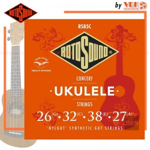 Rotosound สายอูคูเลเล่ รุ่น RS85C - CONCERT UKULELE | G C E A