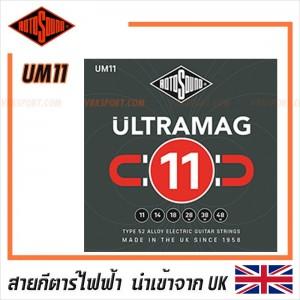 สายกีตาร์ไฟฟ้า Rotosound  รุ่น UM11 - ULTRAMAG MEDIUM | 11-48