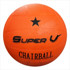 SuperV แชร์บอลยางสีส้ม
