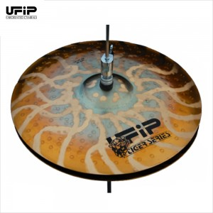 "UFIP รุ่น Tiger  Series 14"" Hi Hat (ฉาบไฮ-เอท)"